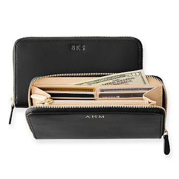 Classic Leather Wallet, Black