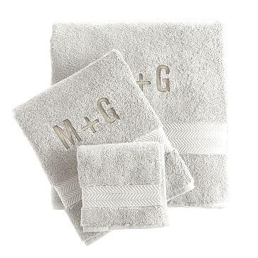 Turkish Hydro Cotton Towel Set, Taupe
