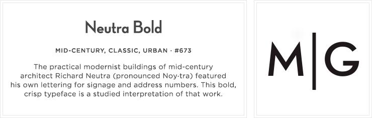 Style 673 - Neutra Bold